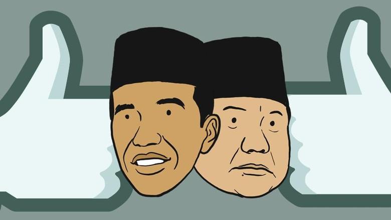 Saling Klaim Koalisi Jokowi-Prabowo soal Peta Kekuatan