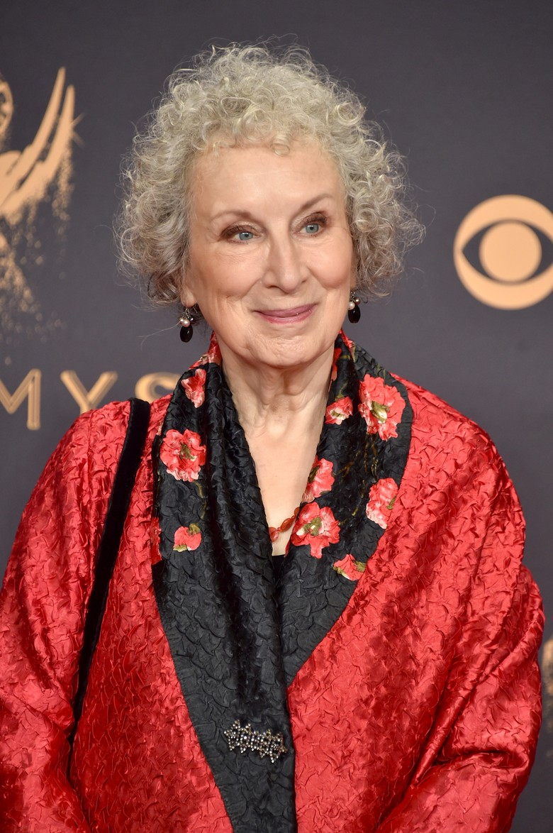 Margaret Atwood Terima Penghargaan di Frankfurt Book Fair 2017 Foto: Getty Images