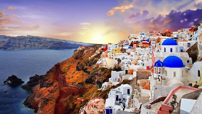 Foto: Santorini di Yunani (dok. Thinkstock)