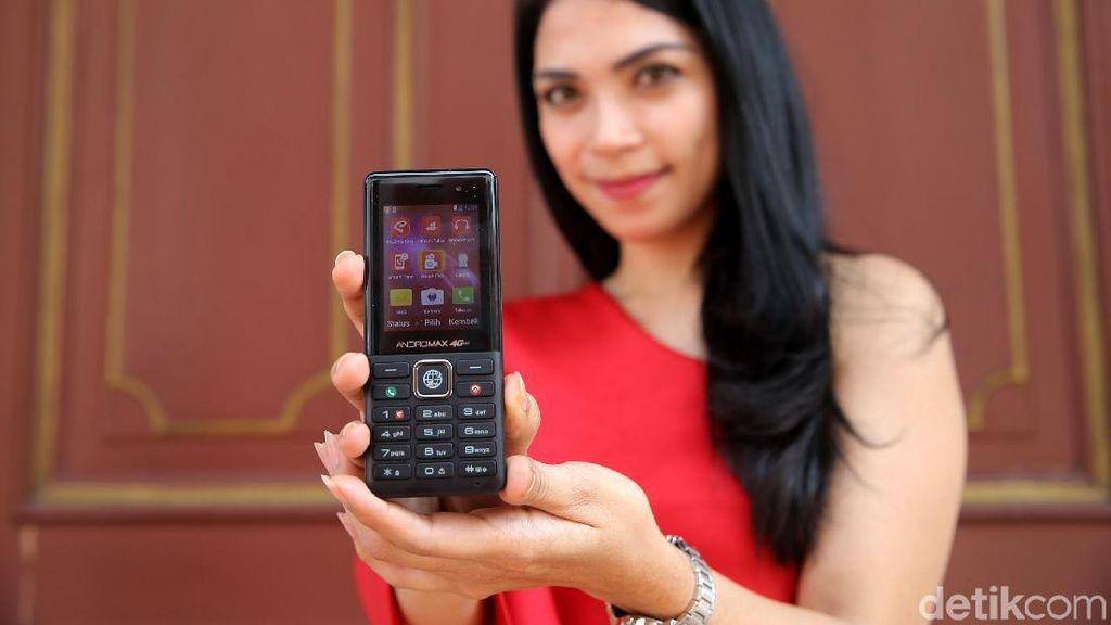 Smartfren Hadirkan Andromax 4G Bergaya Jadul