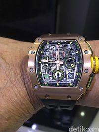 Ini ilustrasi jam tangan Richard Mille. Jam tangan ini milik pengacara  Novanto dea2d7634b