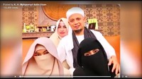 Menyoal Istri Ketiga yang Hilang dari Daftar Ahli Waris Ustaz Arifin Ilham