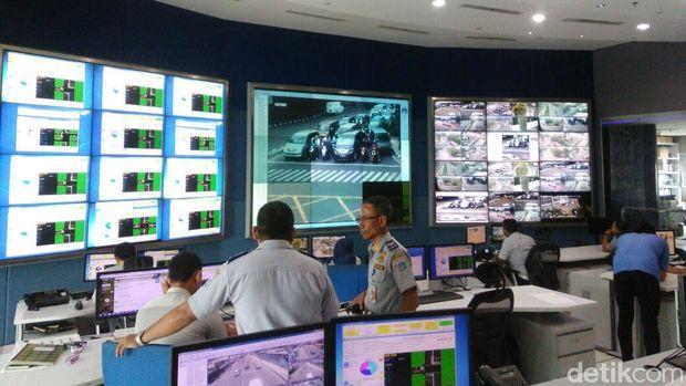Network Operation Center (NOC) CCTV bersuara