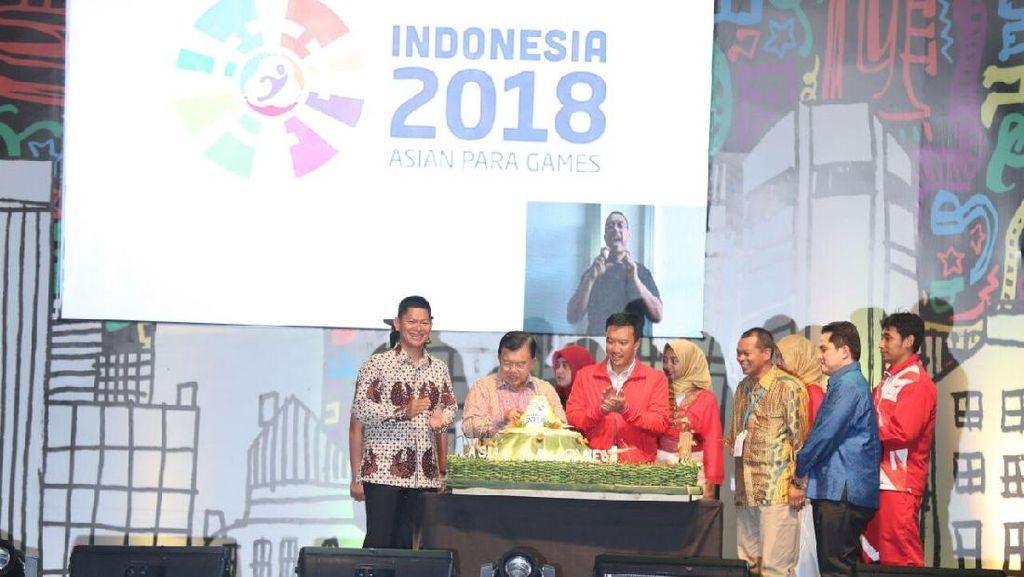 Countdown Tandai Satu Langkah INAPGOC Menuju Asian Para Games