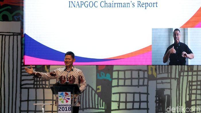 Ketua INAPGOC Raja Sapta Oktohari (Foto: Agung Pambudhy)