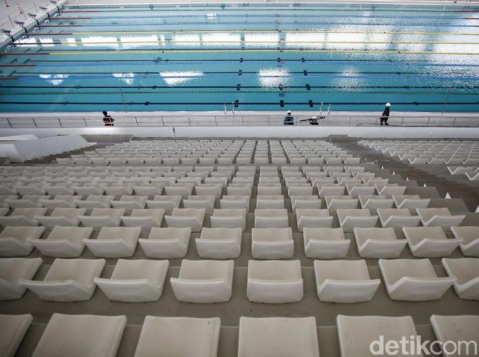 Stadion Akuatik Gelora Bung Karno (Foto: Rachman Haryanto/detikcom)