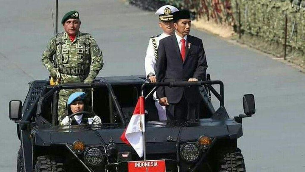 Mengenal Mobil yang Ditumpangi Jokowi Dikemudikan Kowad