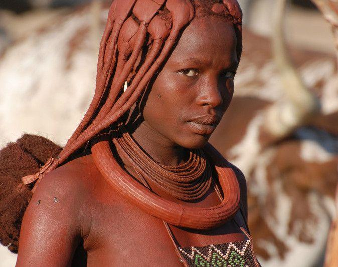 Suku Himba di Afrika