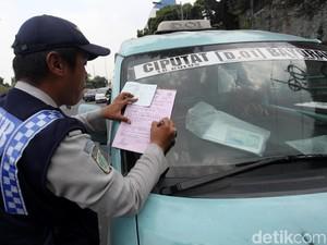 Polisi, TNI dan Dishub Operasi Gabungan
