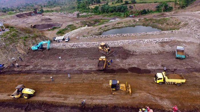 Ilustrasi Pembangunan Bendungan (Foto: Pool/Kementerian PUPR)