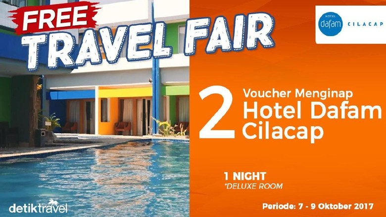 Free Travel Fair Hotel Dafam Cilacap (detikTravel)