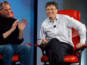 Kisah Menarik Persahabatan Bill Gates dan Steve Jobs