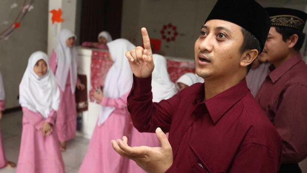 Yusuf Mansur resmi mendukung Jokowi-Ma'ruf di Pilpres 2019.