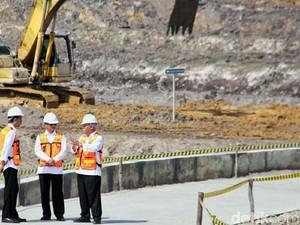 Jokowi Pantau Pembangunan Sumber Air Minum Warga Tarakan