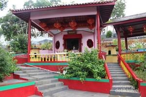 Vihara Tertua di Belitung Ini Cantik
