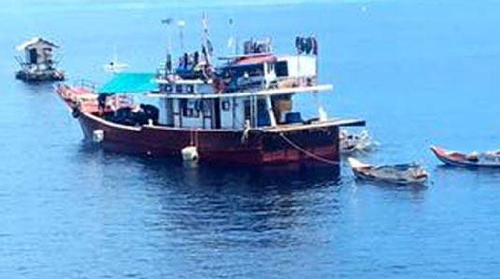 Masih Berani Illegal Fishing, Kapal Ini Ditangkap di Halmahera