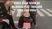Ramai Pemotor Pakai Pelat Thailand, Korlantas Polri: Kami Tindak!