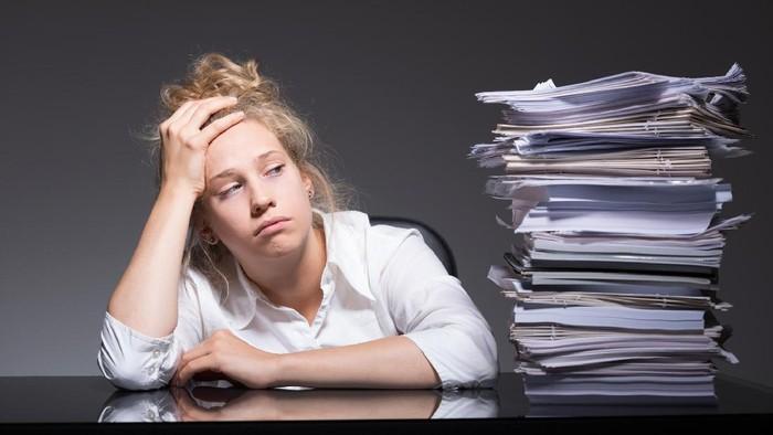 Burnout atau kehilangan semangat kerja kini resmi disebut penyakit. (Foto: ilustrasi/thinkstock)