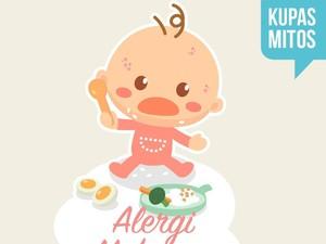 Si Kecil Punya Alergi Makanan? Simak Mitos dan Faktanya di Sini, Bun