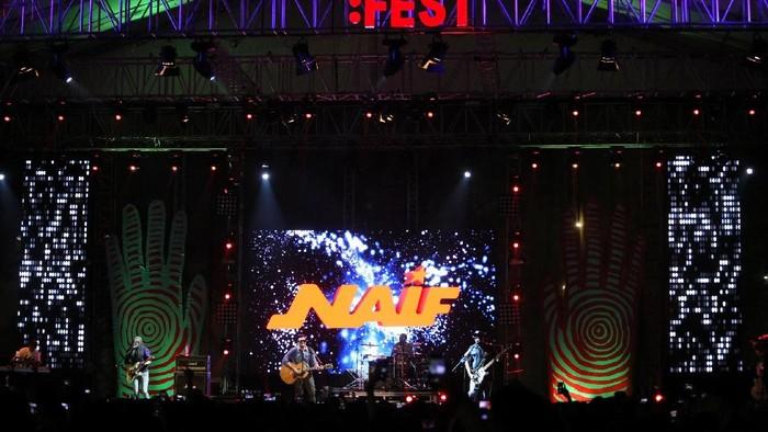 Naif di Synchronize Festival 2017.