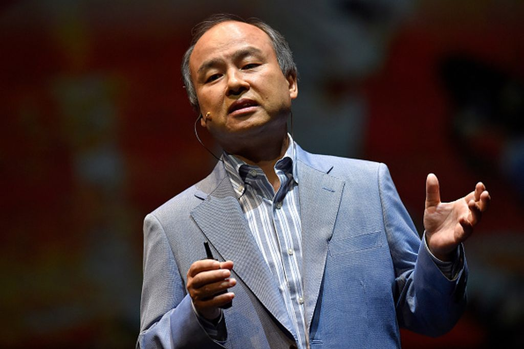 Masayoshi Son dianggap sebagai legenda hidup di Jepang. Masa lalunya yang tidak begitu beruntung, serta kerja kerasnya hingga menjadi bos Softbank menginspirasi banyak orang. Foto: Getty Images