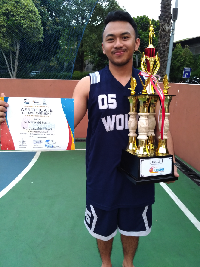 Tim Basket President University Juara Olimpiade FKMHII Korwil II