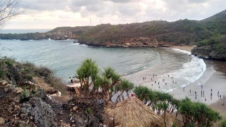 Pantai Baron Gunungkidul (Deny Oey/dTraveler)