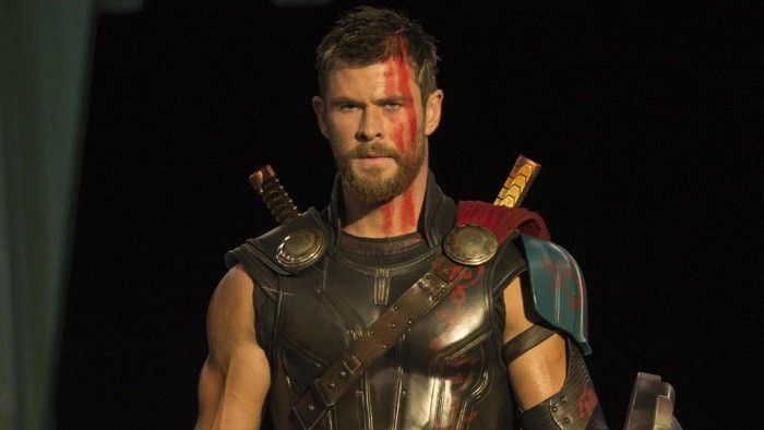 Thor yang diperankan oleh Chris Hemsworth. Foto: Marvel Studios 2017