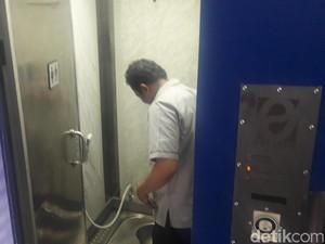 Begini Penampakan Smart Toilet di Halte TransJakarta Monas