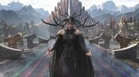 Cate Blanchett memerankan sosok Hela, goddes of death. Foto: Marvel Studios 2017