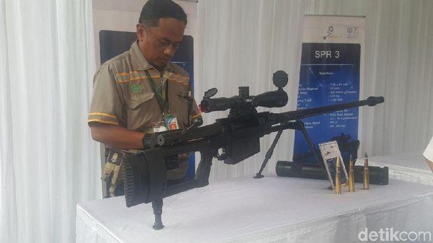 PT Pindad Produksi Senapan Baru Khusus Penembak Jitu