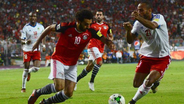 Mohamed Salah menjadi nyawa timnas Mesir di Piala Dunia 2018.