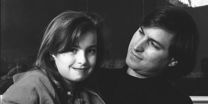 Lisa dan Steve Jobs. Foto: istimewa