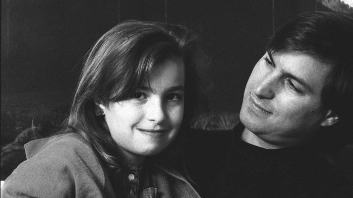 Steve Jobs dan Lisa. Foto: istimewa