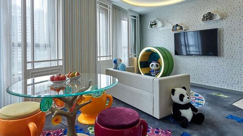 Hotel ramah anak di Hong Kong/ Foto: Internet