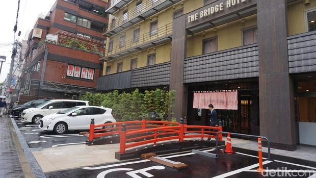 The Bridge Hotel Shinsaibashi (Wahyu/detikTravel)