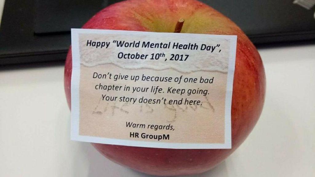 Cara Unik Kantor-kantor Rayakan Hari Kesehatan Mental