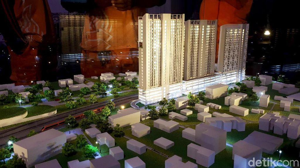 Pembangunan Rusun Nempel Stasiun Bogor Belum Direstui Wali Kota