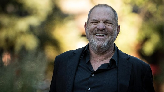 SUN VALLEY, ID - JULY 12: Harvey Weinstein, co-chairman and co-founder of Weinstein Co., attends the second day of the annual Allen & Company Sun Valley Conference, July 12, 2017 in Sun Valley, Idaho. Every July, some of the worlds most wealthy and powerful businesspeople from the media, finance, technology and political spheres converge at the Sun Valley Resort for the exclusive weeklong conference. (Photo by Drew Angerer/Getty Images)