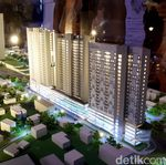 PT HK Investasi Rp 2,1 T Buat Rumah Nempel Stasiun Jurangmangu