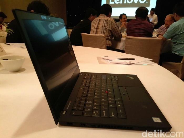 ThinkPad edisi 25 tahun. Foto: detikINET/Yudhianto