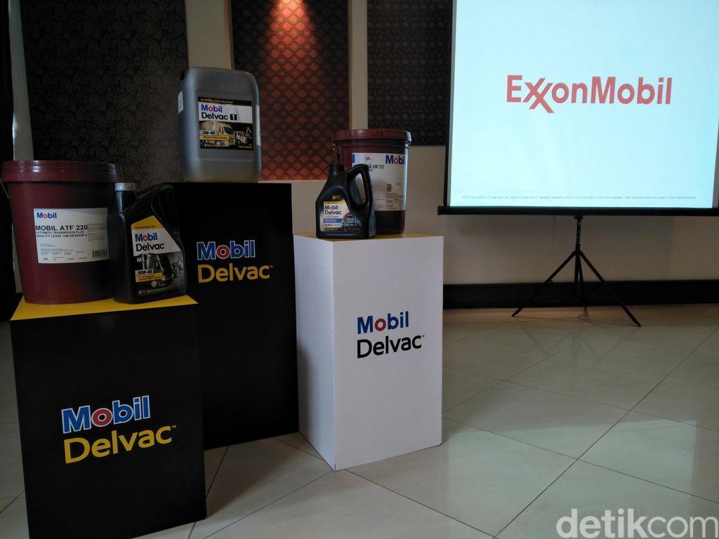 Sejalan dengan tujuan pemerintah untuk mempersiapkan diri mengatasi polusi udara yang diberikan kendaraan khususnya truk dan bus, ExxonMobil meluncurkan pelumas tingkat tinggi dari Mobil Delvac, Mobil Delvac MX ESP.