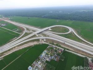 Jumat Ini Jokowi Resmikan 52 Km Jalan Tol Baru di Medan