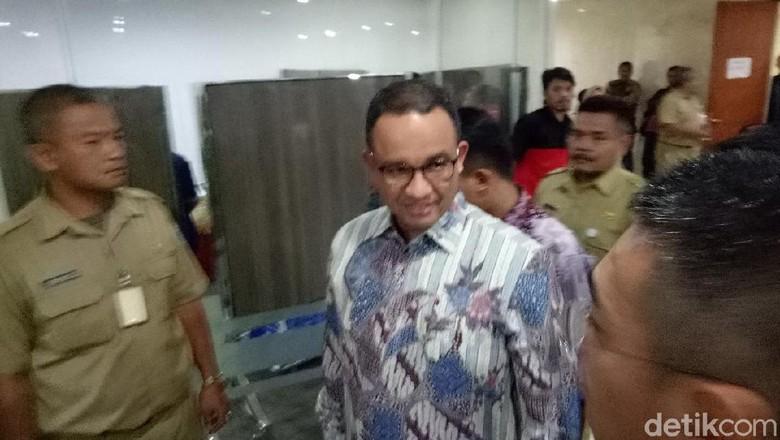Anies Baswedan Hadiri Pertemuan dengan Pimpinan Fraksi di DPRD DKI