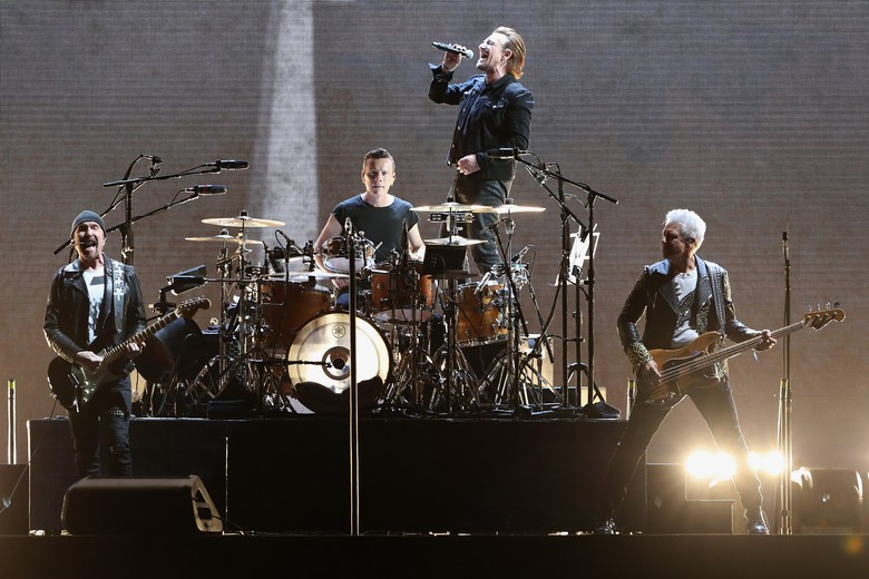 U2. Foto: Christian Petersen/Getty Images