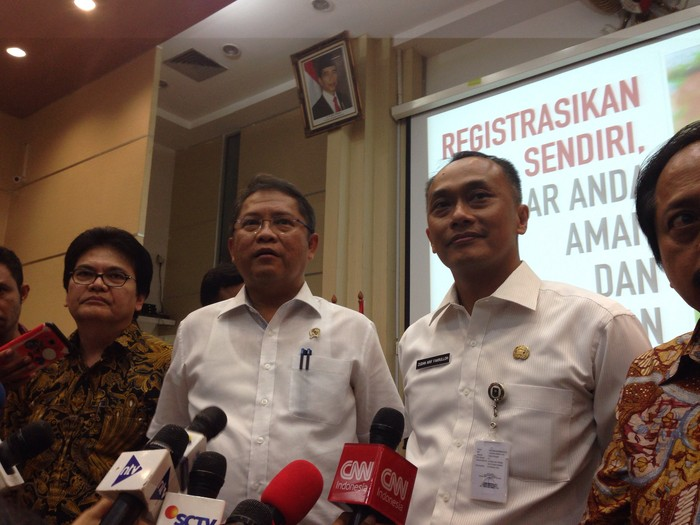 Menkominfo Rudiantara. Foto: Agus Tri Haryanto/inet