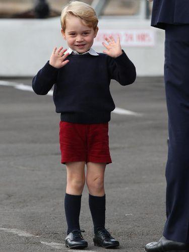 Pangeran George, putra Pangeran William.