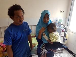 Selain Tumor, Bocah Gizi Buruk Asal Sukabumi Juga Infeksi Paru