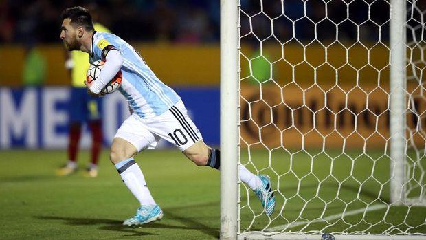 Lionel Messi bakal jadi andalan timnas Argentina di Piala Dunia 2018.