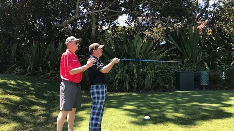 Kejuaraan Golf Tunanetra Berlangsung di Sydney